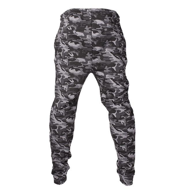 Chained Gym Pants, Black Camo, L