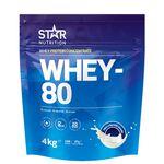 Star Nutrition Whey-80 4kg