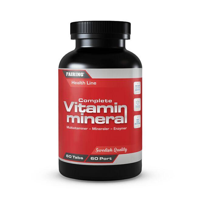 Complete vitamin & mineral, 60 tabs