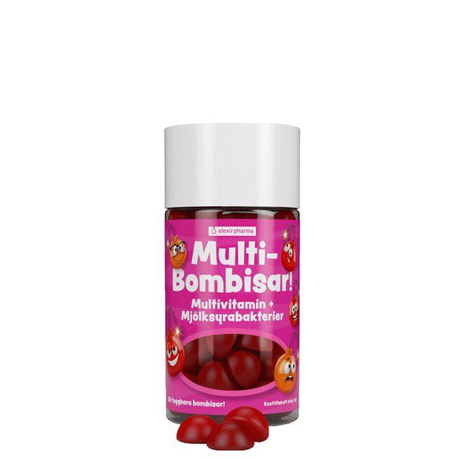 Multi-Bombisar, 60 tuggkapslar