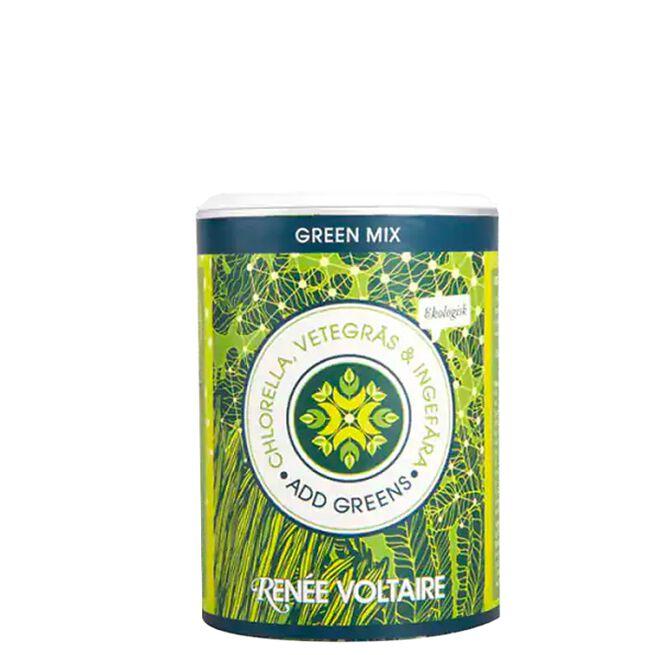 Green Mix Chlorella, Wheatgrass & Ginger, 100 g