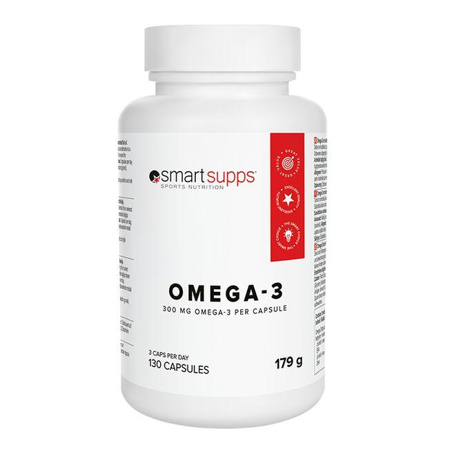 SmartSupps Omega-3, 130 kaps