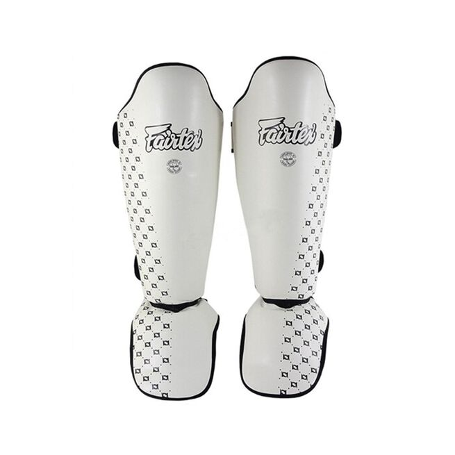 Fairtex SP5, Leg Protection, White, L