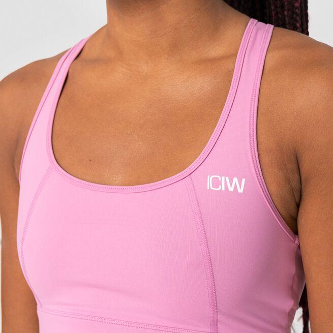 ICANIWILL Classic Sports Bra, Dusty Pink