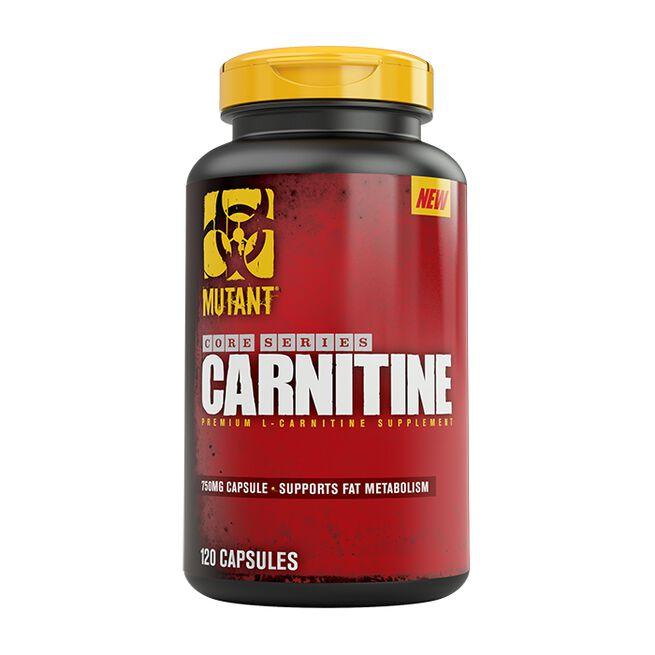 Mutant Core Series Carnitine, 120 caps