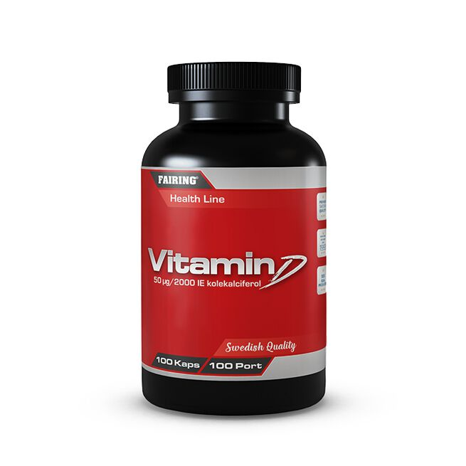 Vitamin D, 100 caps