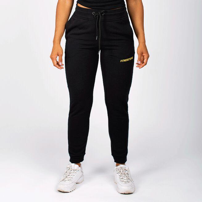 Fitnesstukku WMN Sweat Pants, Black