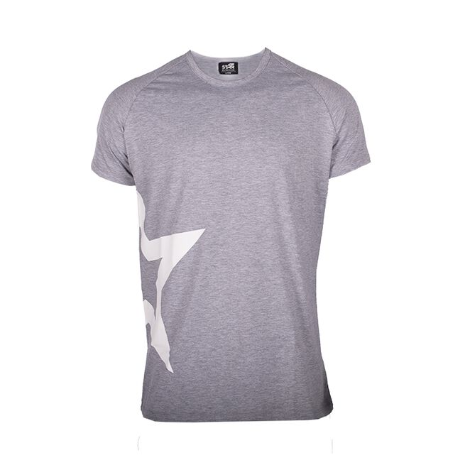 Star Nutrition Raglan T-shirt Star, Grey Melange, S