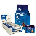 Star nutrition basic protein bar whey-80