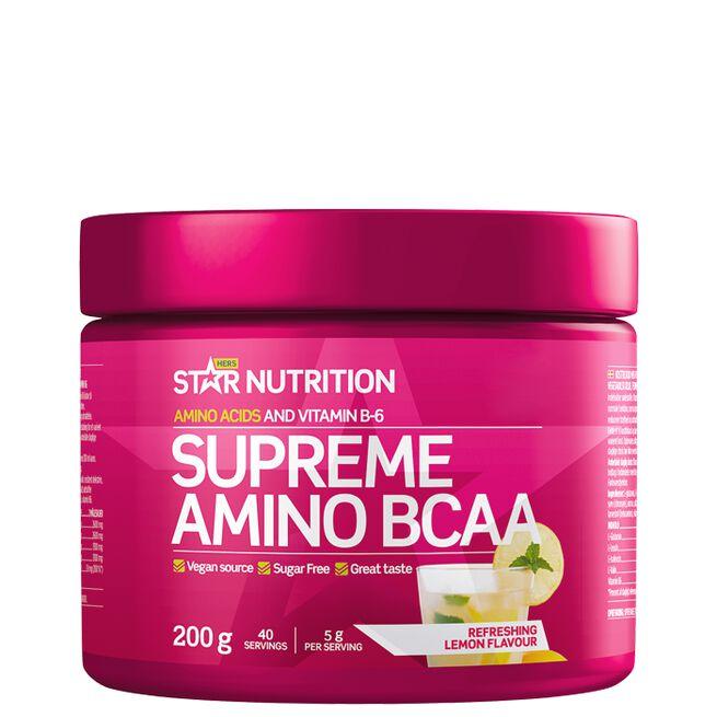 Star nutrition Supreme Amino BCAA Refreshing lemon