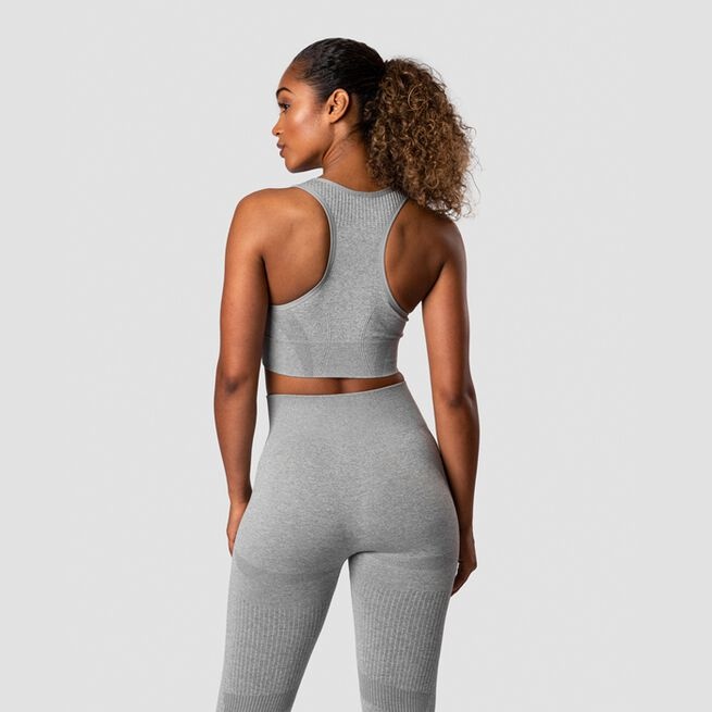 ICANIWILL Nombre Seamless Sports Bra Light Grey Melange
