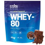 Whey-80, 4 kg, Double Rich Chocolate