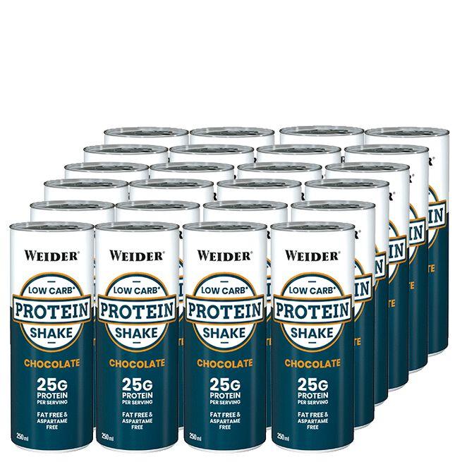 24 x Low Carb Proteinshake, 250 ml, Vanilj