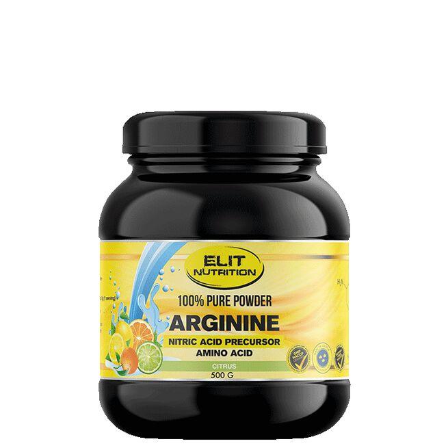 ELIT 100% Pure Powder L-arginine, Neutral, 500 g