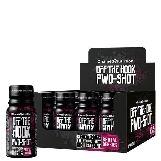 12 x Off The Hook PWO-Shot, 60 ml, Brutal Berries