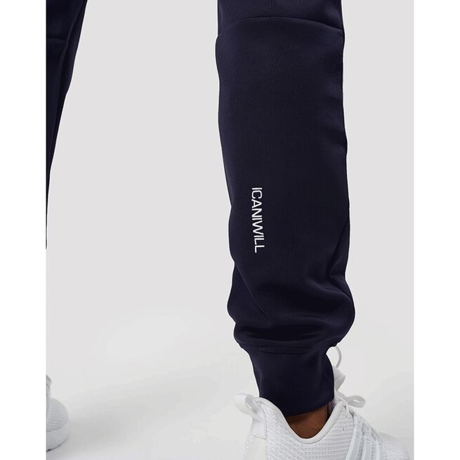 Workout Track Pants, Navy, L