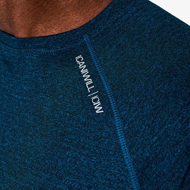 Training Mesh T-shirt v2, Dark Teal Melange, S