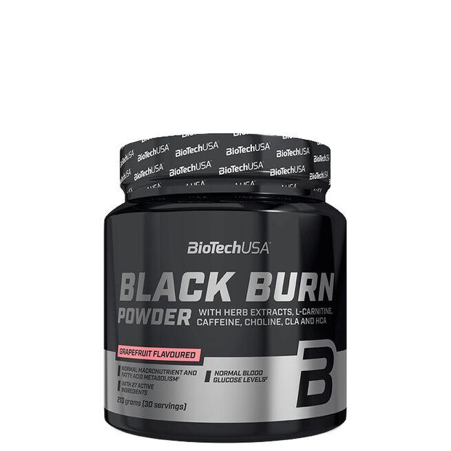 Biotech Black Burn Powder, 210 g, Grapefriut