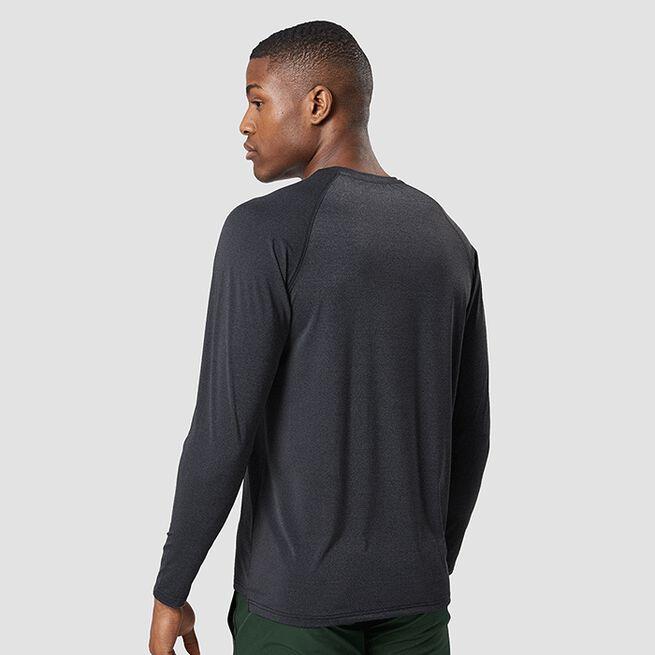 ICANIWILL Workout Melange Long Sleeve, Dark Grey