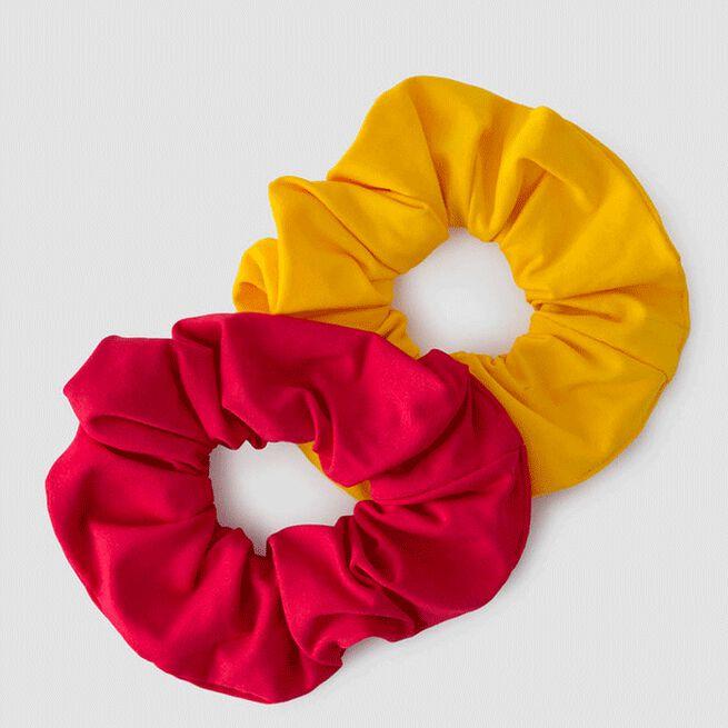 2-Pack Scrunchie, Raspberry/Sunset