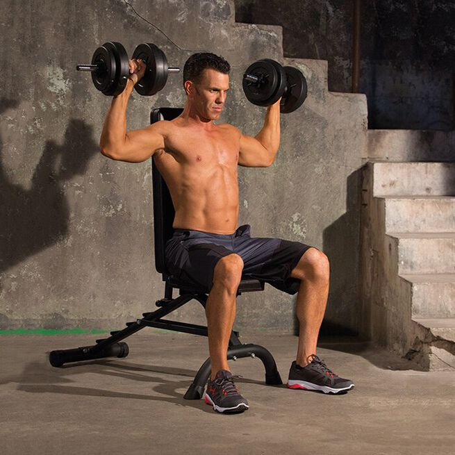 Iron Gym Dumbbell Bench