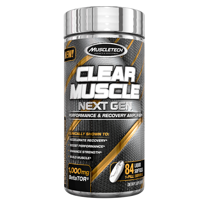 Clear Muscle Next Gen, 84 softgels